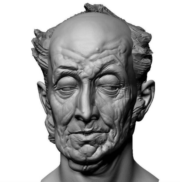 Восстановление картины в 3D — уникальная творческая разработка