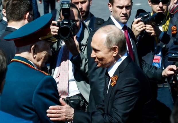 Путин спас знакомого ветерана от своих охранников
