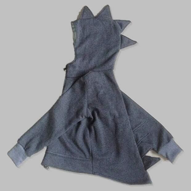 Выкройка куртки-динозавра на рост 104 см