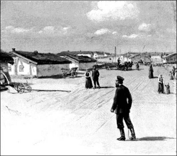 Гореловка, «столица» духоборцев вГрузии, 1893год