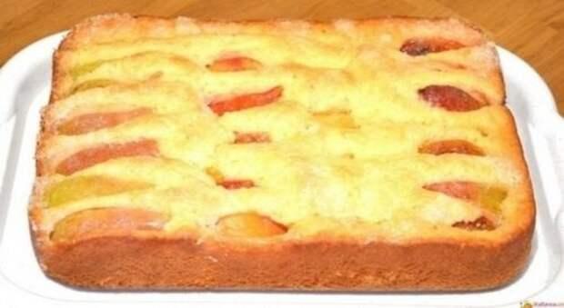 Рецепт изумительного фруктового пирога за 5 минут + выпечка