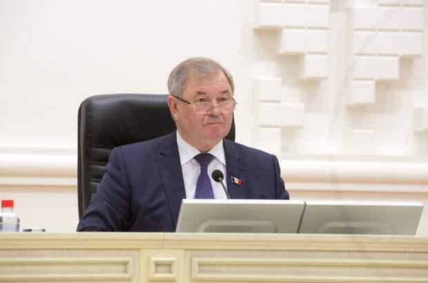Депутаты поддержали отставку председателя Госсовета Удмуртии Алексея Прасолова