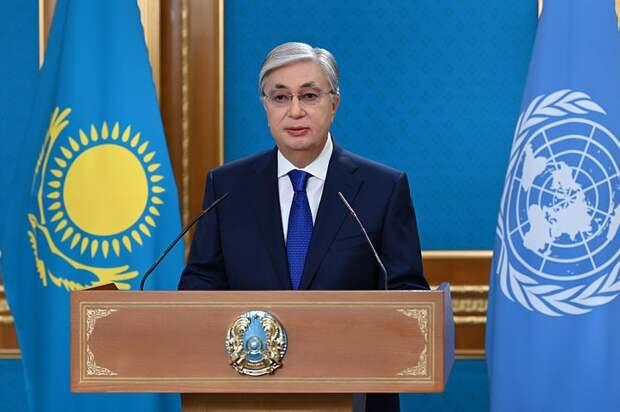 Президент Казахстана выступил на дебатах Генеральной Ассамблеи ООН