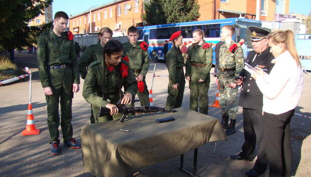 Юнармейцы школы поселка МИС победили в патриотической игре в Подольске