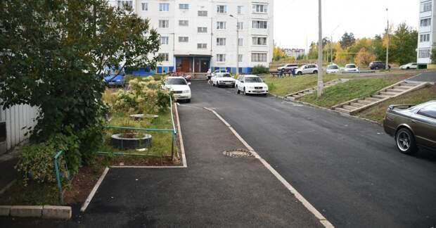 Двор по улице Иванова благоустроили в Братске