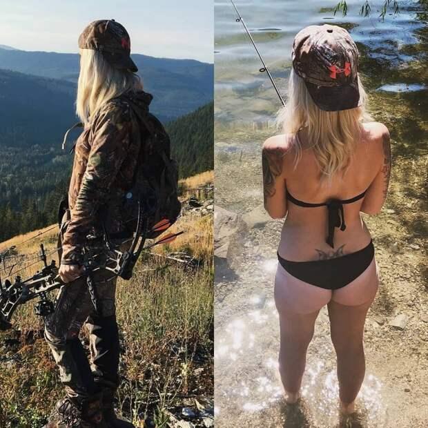 Девушки в форме и без неё...