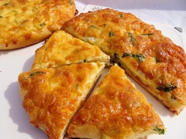 Сырная лепешка Лепешки, хачапури, рецепт, вкусно, готовка, другая кухня, сырная лепешка, выпечка, видео, длиннопост