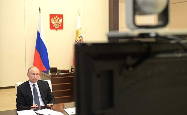 Путин: пик эпидемии коронавируса в России еще не пройден