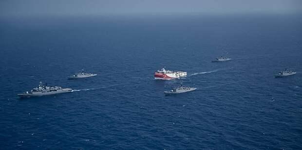 Греция расширила свои территориальные воды в Ионическом море до 12 миль