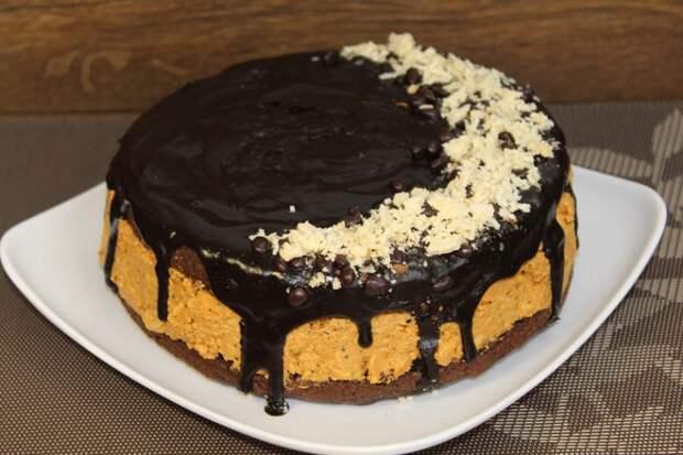Торт на скорую руку. Без возни и из простых ингредиентов. Проще не бывает
