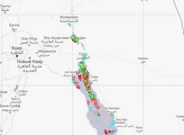 В связи с перекрытым Суэцким каналом с проблемами патрулирования столкнулись ВМС США