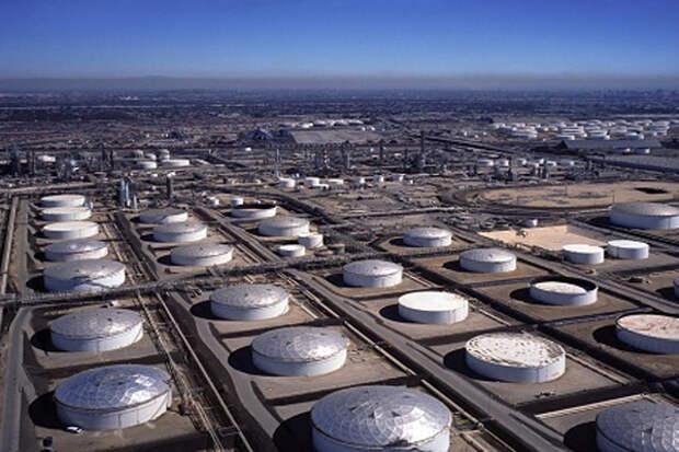 нефтехранилища запасы нефти