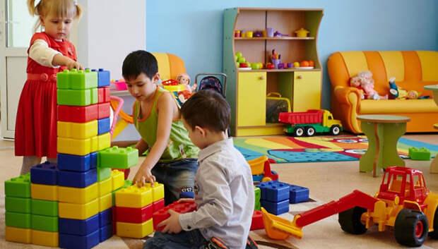9 детсадов на средства бюджета построят в Подмосковье в 2020 году