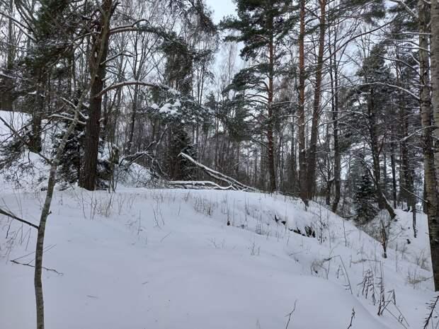 Пильская батарея на острове Черновом - морская  крепость , защищавшая Выборг. Поход по льду.