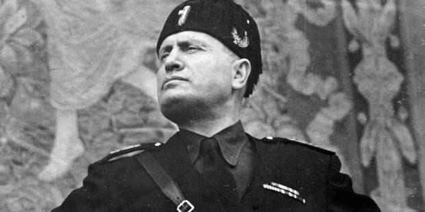 Benito Mussolini (1883-1945), Italian statesman.