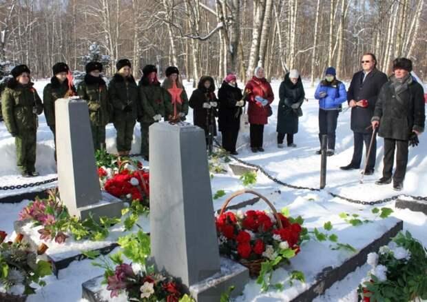 Кадеты из Северного Тушина приняли участие в открытии памятника генералу Белобородову