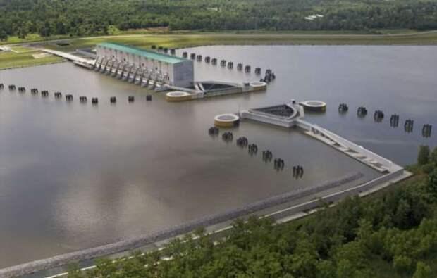 Что выкачивает самый большой в мире насос, потребляющий энергию как целый город (4 фото)