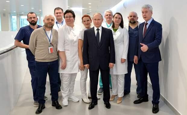 Скандал в больнице Коммунарки: «Вам Путин обещал – пусть он вам и дает!»