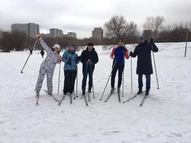 Победители лыжной гонки/пресс-служба префектуры