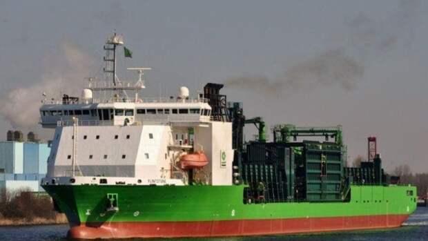 «Северный поток— 2» будет строить голландское судно