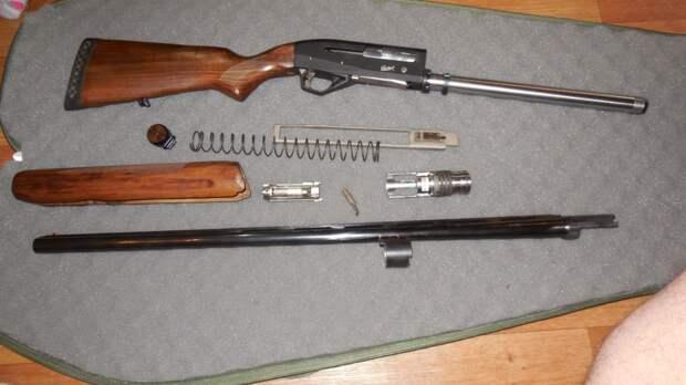 МР-155: гладкоствольное охотничье ружье