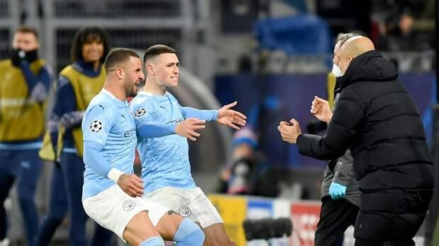 «Манчестер Сити» обыграл дортмундскую «Боруссию» и вышел в полуфинал Лиги чемпионов