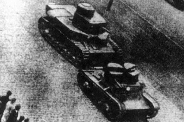 Танки Т-24 и Т-26