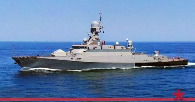 В Севастополь передислоцировался малый ракетный корабль «Орехово-Зуево»