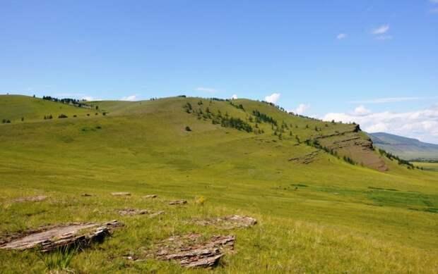 Гора Сундук. Чудо природы