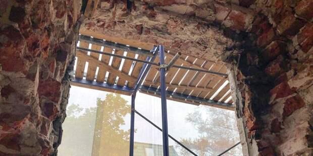 Собянин осмотрел итоги реставрации здания в Хохловском переулке. Фото: mos.ru