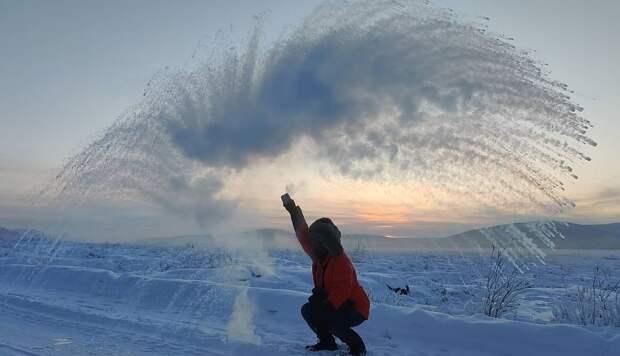 15 морозных фотографий из Якутии, где температуры в этом году достигали 60 градусов по Цельсию