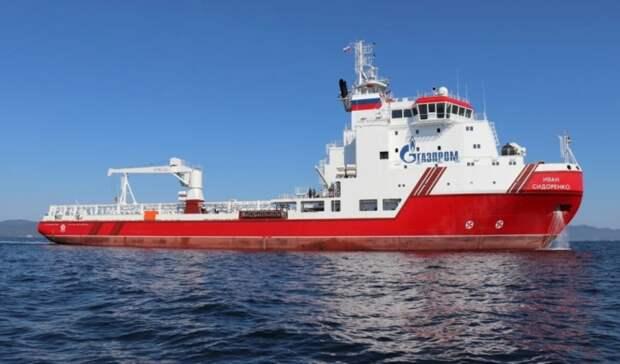 Еще два судна снабжения направились возобновлять прокладку «Северного потока-2»