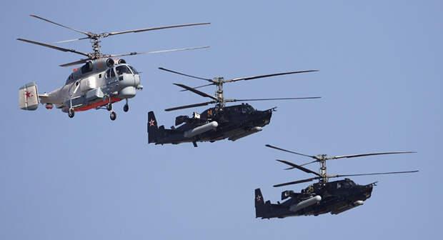 Зачем военные сливают боевые вертолёты