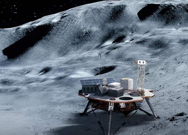 NASA выбрало частные компании для доставки оборудования на Луну