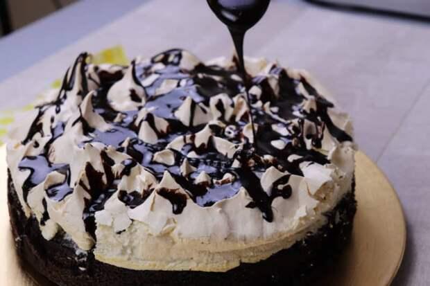 Торт «Улыбка негра». Нежный и вкусный, простой и быстрый