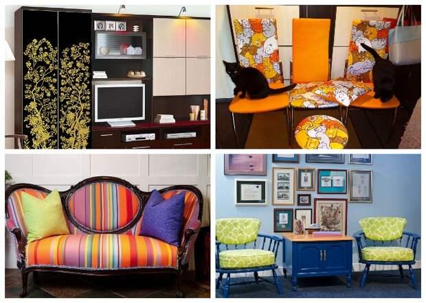 Старую мебель можно превратить в настоящий шедевр, если проявить немного фантазии и приложить усилия.