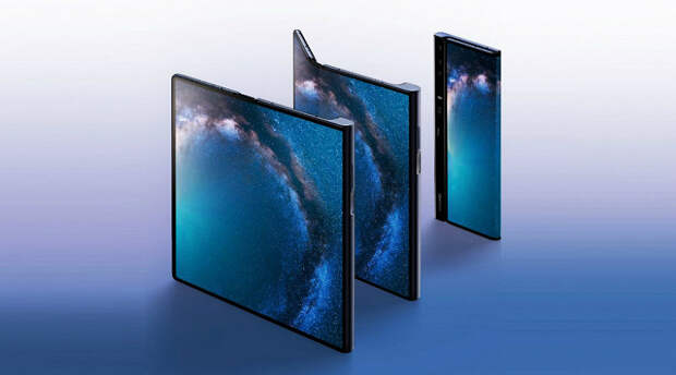 Samsung Galaxy Fold наизнанку. Продажи складного смартфона Huawei Mate X стартуют до конца месяца