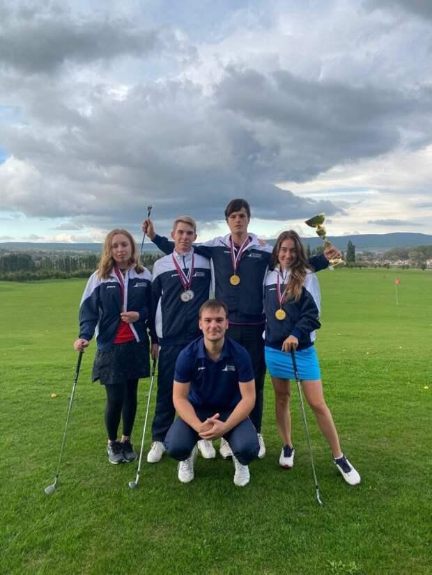 Команда гольфистов из Финуниверситета взяла Кубок на Всероссийских состязаниях