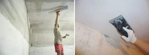 Ремонтируем потолок на кухне своими руками