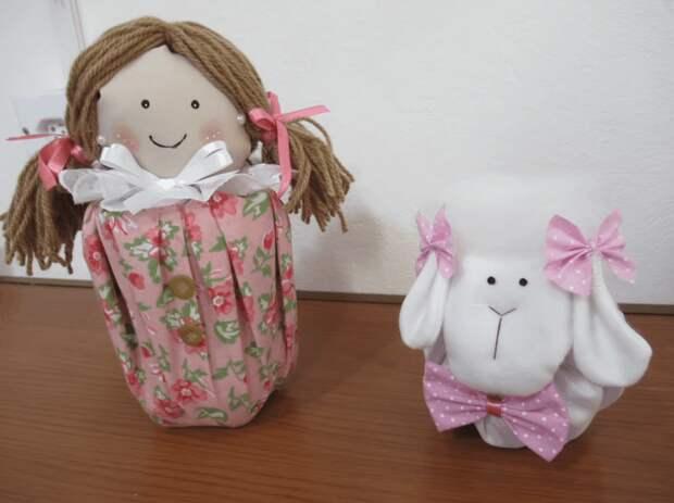 Интерьерные игрушки: стильный декор из подручных средств