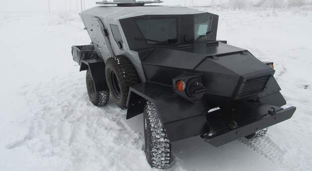 Обнародованы фото опытного образца бронеавтомобиля «Ласок 4-П»