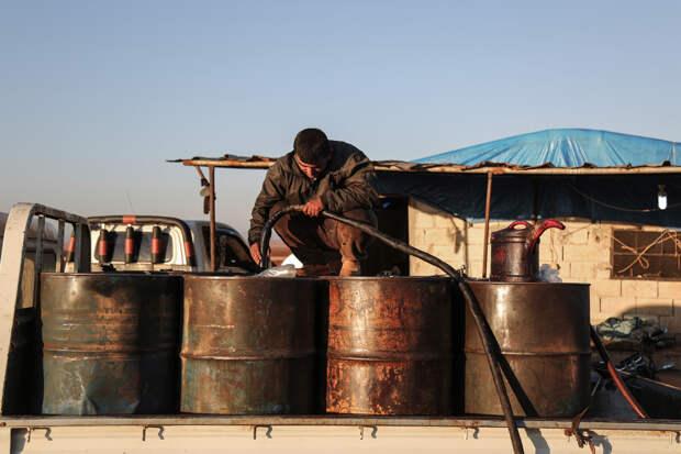 В Сирии подсчитали объемы нефти, которые разворовываются при поддержке США