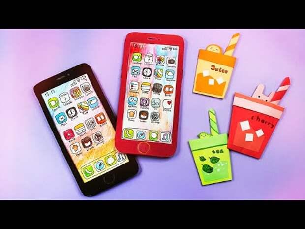 Блокнот+ Органайзер iPhone для школы своими руками Как сделать органайз...