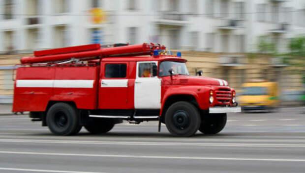 Жителей одного из домов Подольска эвакуировали из‑за возгорания в подвале