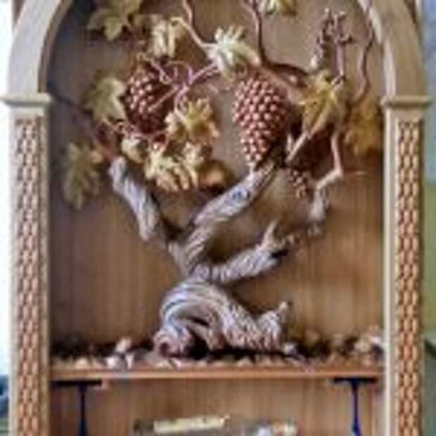 1 место - Бар,ручная работа,резьба по дереву,Василий Бевз