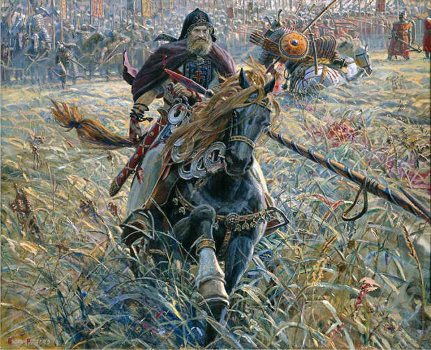 Великая история России в атмосферных картинах Павла Рыженко