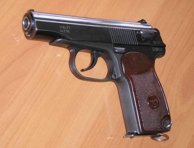Пистолет ИЖ 71 – любимое оружие частных охранников