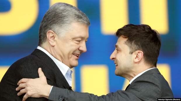 Коалиция Порошенко и Зеленского окончательно уничтожит Украину