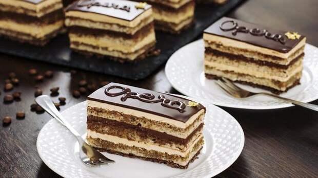 Знаменитый французский торт «Опера»: На вкус — БОМБА
