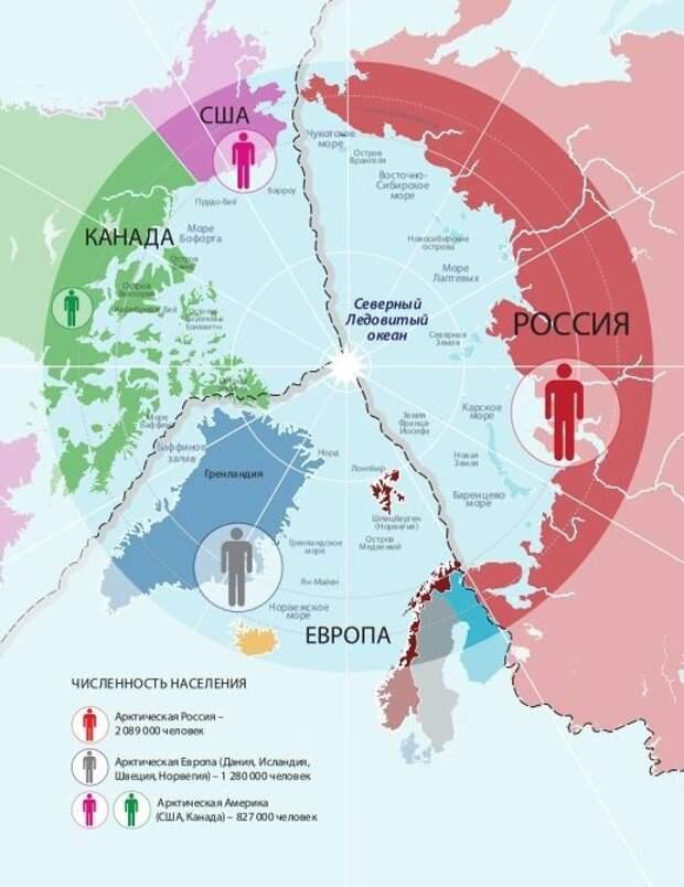 Новая точка кипения: Распределение сфер влияния в Арктике нарастает...